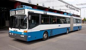 Die Busse aus den 90er Jahren werden ausgemustert