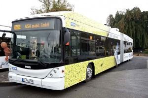Hybridbus der Wuppertaler Stadtwerke