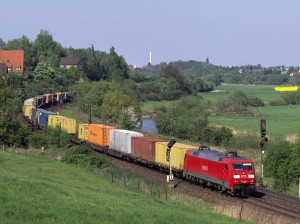 Güterzüge sind wichtig - und laut