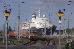 Mit dem Zug nach Warnemünde - im November wirds schwierig