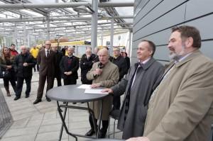 Verkehrsplatz Essen-Steele: Eröffnungsveranstaltung