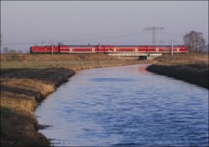 Regionalzug in Brandenburg