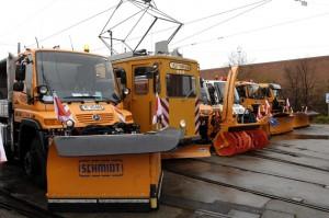 Winterdienst der Stadtwerke München