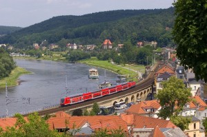 Bahnverkehr in der sächsischen Schweiz