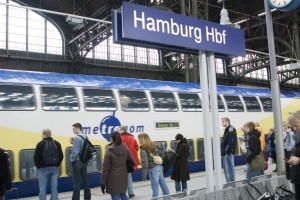 Auch der Metronom gehört zu Arriva-DE