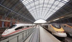 ICE und TGV in London