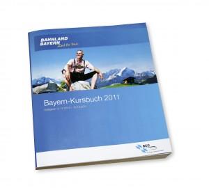 Das neue Kursbuch für Bayern kann jetzt bestellt werden