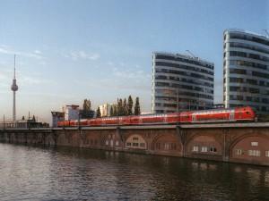 Die DB zeigt schlechte Leistungen in und um Berlin