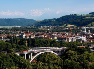 Die Schweizer tun was für ihre Bahn