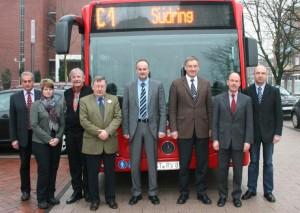 Regionalverkehr Münsterland übernimmt neuen Fahrplan