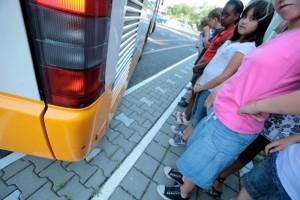 Heag Mobilo bieten Verkehrserziehung für Viertklässler