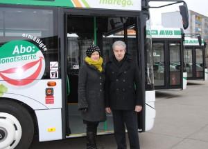 Neue Busse für Magdeburg