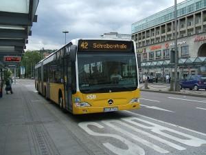 Einstieg beim Fahrer - jetzt auch in Stuttgart