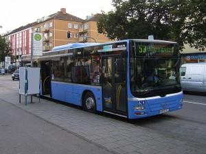 MVG-Bus in München