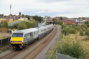 Personenzug von Wrexham & Shropshire