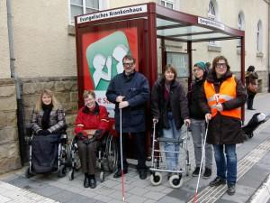 Ortstermin zur Barrierefreiheit in Münster