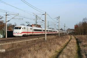 Die Schnellfahrstrecke Hannover - Berlin wird Investitionsschwerpunkt