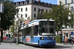 Das Münchener Tramnetz wird in Schuss gehalten