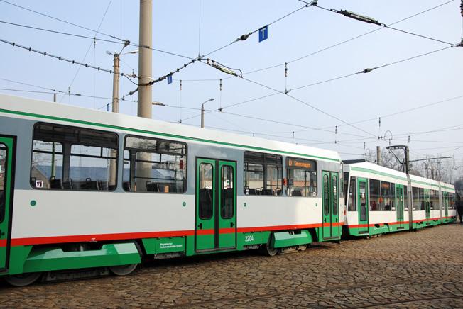 magdeburg modernisierter ex berliner tatra erg nzt tramnetz eisenbahnjournal. Black Bedroom Furniture Sets. Home Design Ideas