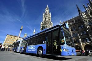 Dritter Hybridbus Münchens