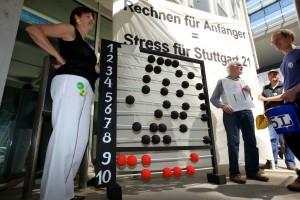 Stuttgart 21 Gegner demonstieren weiter