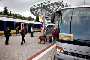 Ab Montag müssen Reisende auf Busse umsteigen